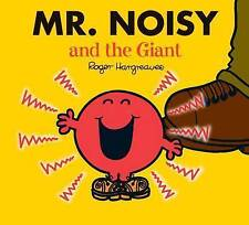 NEW sparkly MR NOISY and the GIANT (BUY 5 GET 1 FREE) Little Miss Men 9781405235