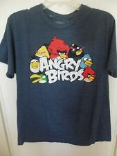 Men's Large Angry Birds T-Shirt Video Game Characters