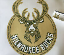 "MILWAUKEE BUCKS 2018 ""Building Blocks"" Limited Ed. Art Poster by Michael Shay"