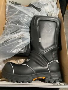 Lion/Thorogood structural firefighter turnout boots size 13 W  STK:804-6369