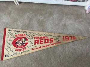 CIncinnati Reds 1976 World Series National League Champions Pennant