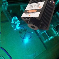 High Quality 450nm 2000mW 2W Blue Laser Module TTL CNC Cutter Engraving