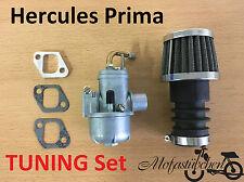 TUNING Vergaser 12mm inkl. Sportluftfilter Hercules Prima M 2 3 4 5 Mofa