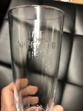 """Old Speckled  Hen"""" pint glass"""