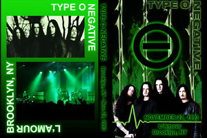 Type O Negative - L'Amour, Brooklyn, 1993 - DVD
