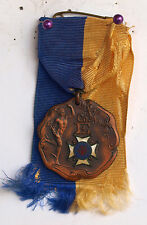 1907 BRONZE MEDAL NYNG 71ST INFANTRY REGIMENT COMPANY E ATHLETICS DIEGES CLUST