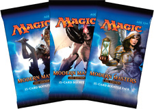 Magic Mtg Modern Masters 2017 Factory sealed Booster Pack X 3 !
