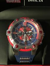 Invicta Marvel Bolt Spider Man 52mm Limited Edition Chronograph Blue Watch 25989