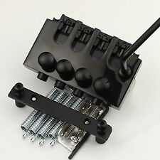 Black Electric bass 4string bass Locking Tremolo Bridge for bass guitar parts