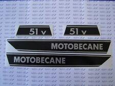 **NOUVEAU**  1 KIT  DE 4 AUTOCOLLANTS MOBYLETTE  51 V  MOTOBECANE