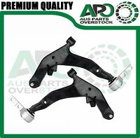 Front Lower L & R Control Arms with Ball Joints for NISSAN Murano Z50 05-09