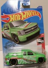 Hot Wheels 2020 Chevy Silverado, HW Rescue series, 240/250, TH Very Nice (C0059)