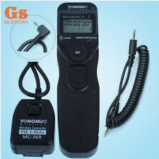 Yongnuo MC-36R/C1 Wireless Timer Remote For Canon 1100D 600D 550D 500D Camera