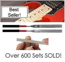 AxeMasters FRET EDGE FILE SET 400 / 600 Grit Dressing Diamond Luthier Guitar