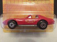 1992 Matchbox Corvette T Top Vette MB58 Red Die-Cast Metal