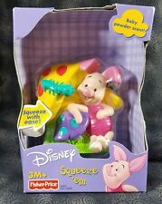 Fisher Price Disney Piglet Squeeze 'em Baby Powder Scent NEW