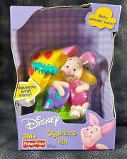 Fisher Price Disney Piglet Squeeze 'em Baby Powder Scent NEW