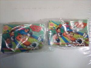 1992 Burger King Toys Disney Goof Troop Bowlers Lot Set of 2 (Pete and P.J.) NIP