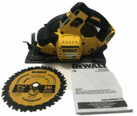 "NEW DEWALT DCS578 FLEXVOLT 60V Volt MAX Brushless 7-1/4"" Circular Saw w/ Blade"