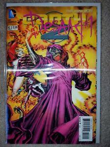 DC COMICS: EARTH 2  15.1 NM LENTICULAR COVER:  DESAAD  #1