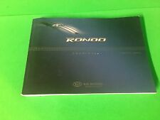 2010  KIA RONDO  OWNER'S MANUAL TRUSTED SELLER FAST FREE U.S. SHIPPING