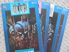 Batman: Legends of the Dark Knight #2, 3, 4, 5 (1989) Denny O'Neil - High grade
