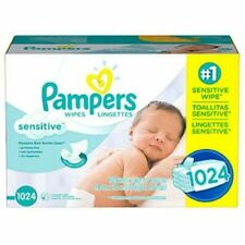 Pampers Sensitive Baby Wipes, 1024 Ct.