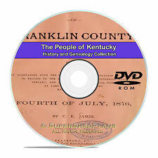 Kentucky KY, People Civil War Family Tree History Genealogy 129 Books DVD CD B03