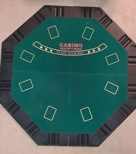 Foldable Texas Hold'em Poker Table Top