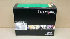 A-artículo Original Lexmark Tóner T654X31E Optra T654 T656 32000 Lados como