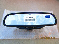06 - 09 PONTIAC TORRENT LT LS GT REAR VIEW AUTO DIM COMPASS MIRROR 15292249 NEW