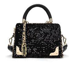 Womens Tote Shoulder Handbag Korean Fashion Faux Leather Hobo Bag Leopard New
