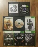Call of Duty Modern Warfare 2 3 4 Black Ops 1 2 Ghosts Bundle Lot of 6 Xbox 360