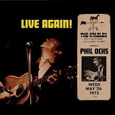 PHIL OCHS New Sealed 2018 UNRELEASED 1973 LIVE MICHIGAN CONCERT CD