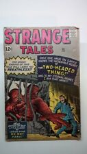 STRANGE TALES No 95 1962 Marvel comic Kirby Two Headed Thing Very good condition