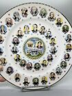 1981 Presidents Of The United States Commemorative Plate Ronald Reagan