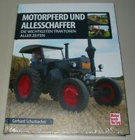 Bildband Motorpferd + Allesschaffer Die wichtigsten Traktoren aller Zeiten Buch!