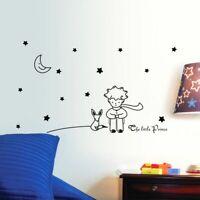 Home Decor Wall Sticker Kids Room Mural Decal Art Little Prince Fox Moon Star