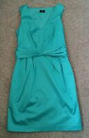 New Green V Neck Smart Dress Oasis Size 10 Occasion Races Wedding Christening