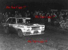 Walter Rohrl ALITALIA FIAT 131 ABARTH RAC Rally 1978 fotografia 7