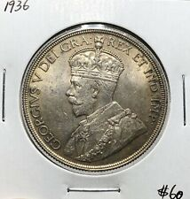 Canada 1936 Silver $1 Dollar UNC