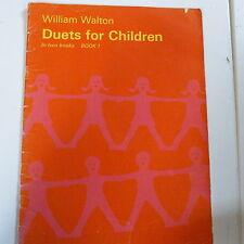 Piano Duet dúos para niños libro 1, William Walton