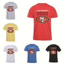 San Francisco 49ers Football T-Shirt Summer Casual Cotton Short Sleeve Tee Shirt