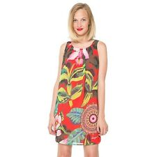 NWT DESIGUAL Elena Tropical Print Dress Size 42 $125