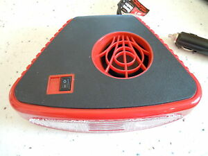 12V DC CAR AUTO PORTABLE SPACE HEATER FAN DEFROSTER