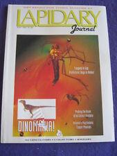 LAPIDARY JOURNAL - DINOMANIA - July 1992 v 46 # 4