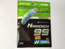 [Max 30lbs] Genuine YY Badminton String NBG99 Nanogy Control 0.69mm (6 COLOR)