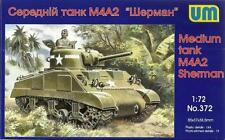 Sherman M4A2 (francese e U.S. MARINES marcature) 1/72 UNIMODELS