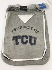 Texas Christian University Property Of Hoodie Purse Tote TCU Horned Frogs Bag