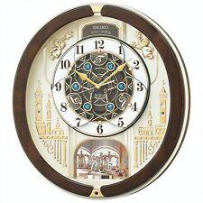 Seiko clock radio wave analogue Triple Selection Melody Pearl RE579B F/S NEW